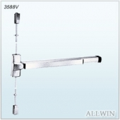 Stainless Steel Heavy Duty Surface Vertical Rod Exit Device