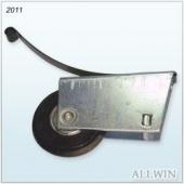 Patio Glass Door Single Wheel Roller