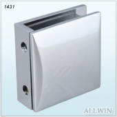 Arch Solid Brass Shower Door Glass Clamp