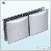 Solid Brass Arch Surface Glass Clamp