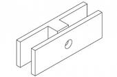 Stainless Steel 180 Degree Balustrade Glass Bracket