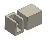 Patent New Design Glass Clamp Glass Standoff