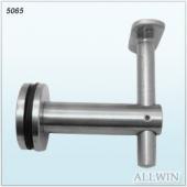 Stainless Steel Flat Fixed Saddle Adjustable Handrail Bracket