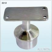 Stainless Steel Flat Fixed Straight Saddle Handrail Bracket
