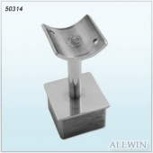 Stainless Steel Square Post Reducer Handrail Bracket
