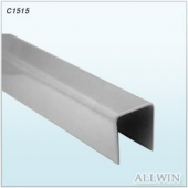 Stainless Steel Handrail Top Cap U Channel Railing Tube