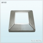 Stainless steel handrail square tube cover