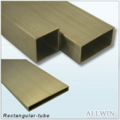 Stainless Steel Rectangular Railing Tube
