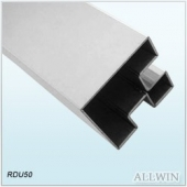 Stainless Steel 90 Degree Double Slot Square Tube