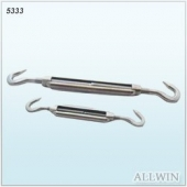 Stainless Steel Turnbuckle Two Hook Rigging Hardware