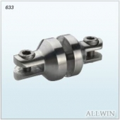 Stainless Steel Glass Panel Swivel Connector