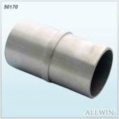 Stainless Steel 180 degree 2 end Round Pipe Connector