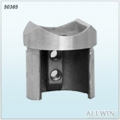 Stainless Steel Perpendicular Collar Slot End Cap