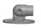 Stainless Steel Adjustable Handrail Wall Flange