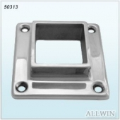 Stainless Steel Square 4 Hole Flange