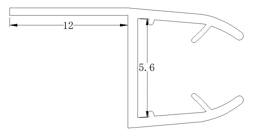 Glass shower door plastic seal strip sliding door wipes and water glass shower door plastic seal strip sliding door wipes and water seals planetlyrics Choice Image