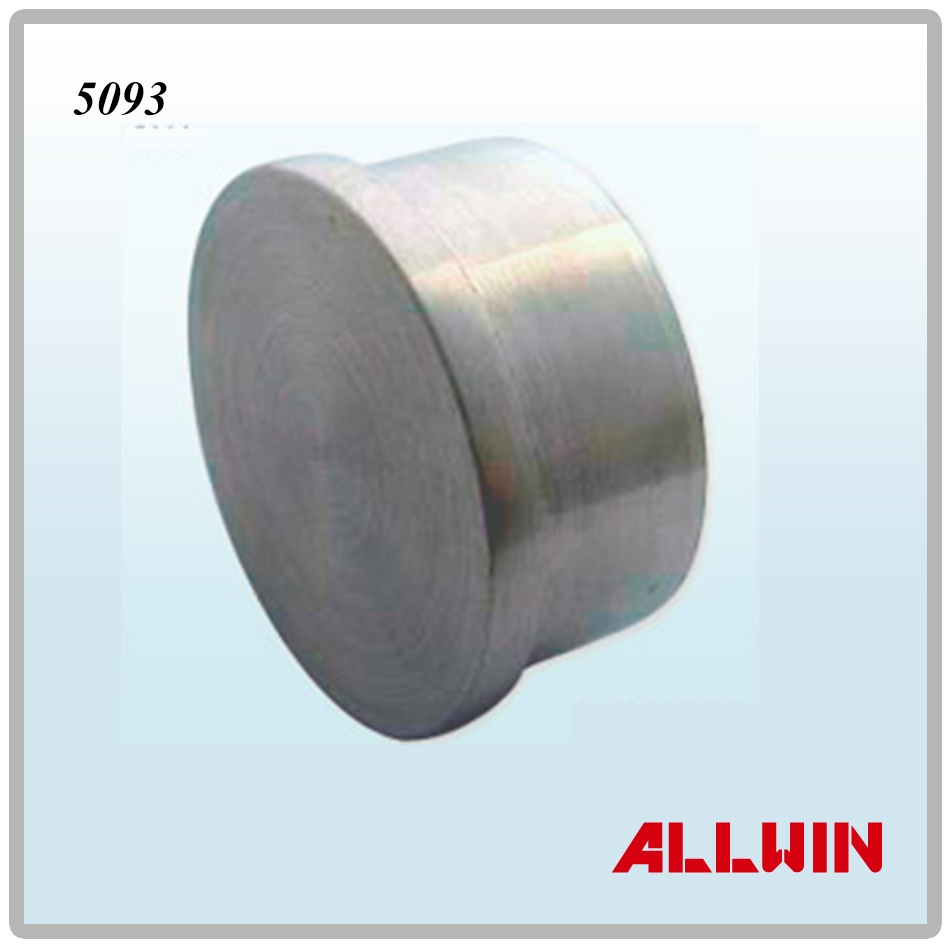Stainless steel round tube pipe flat end cap product