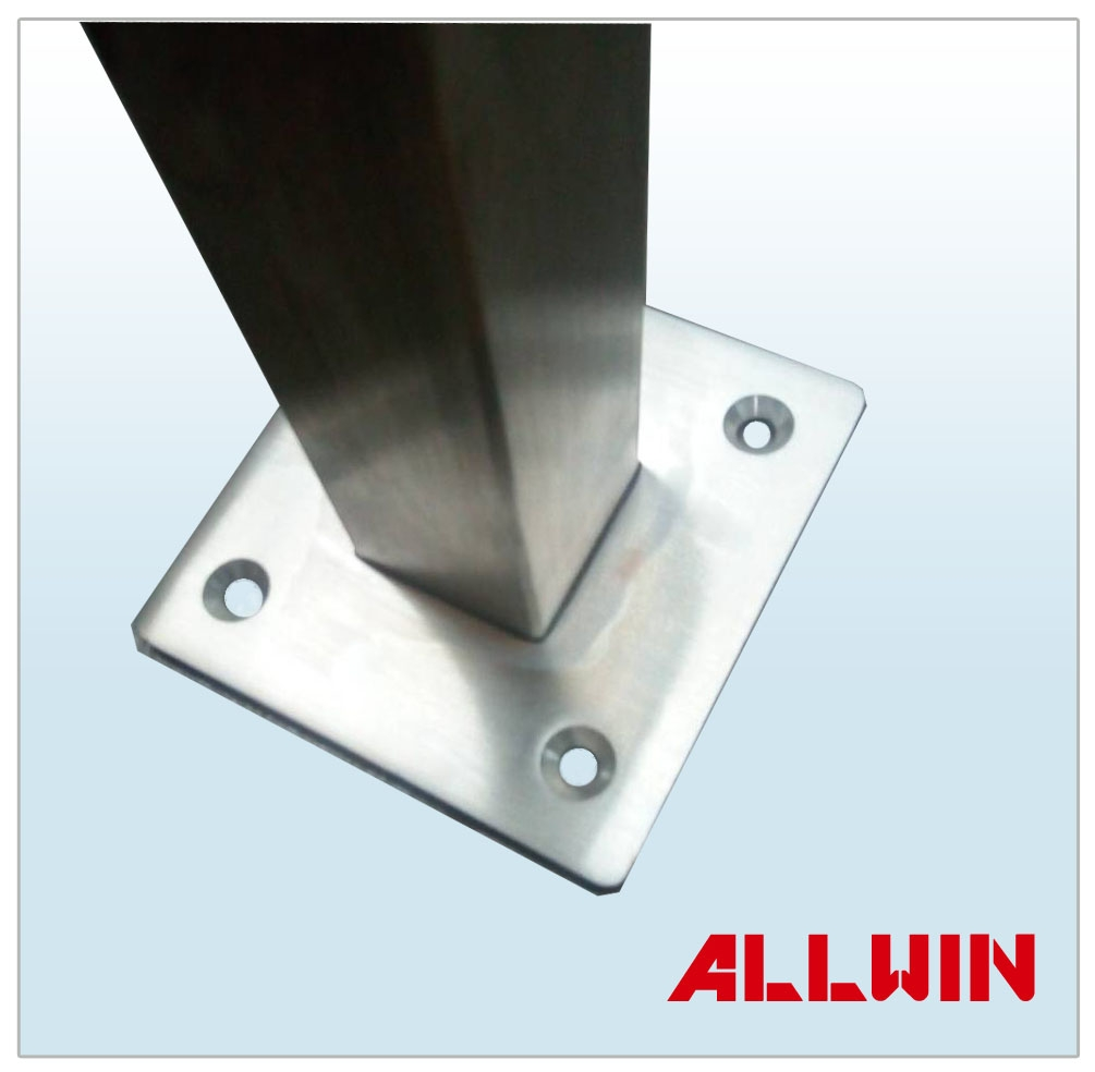 Stainless Steel Wire Product : Stainless steel cable wire or glass panel railing square