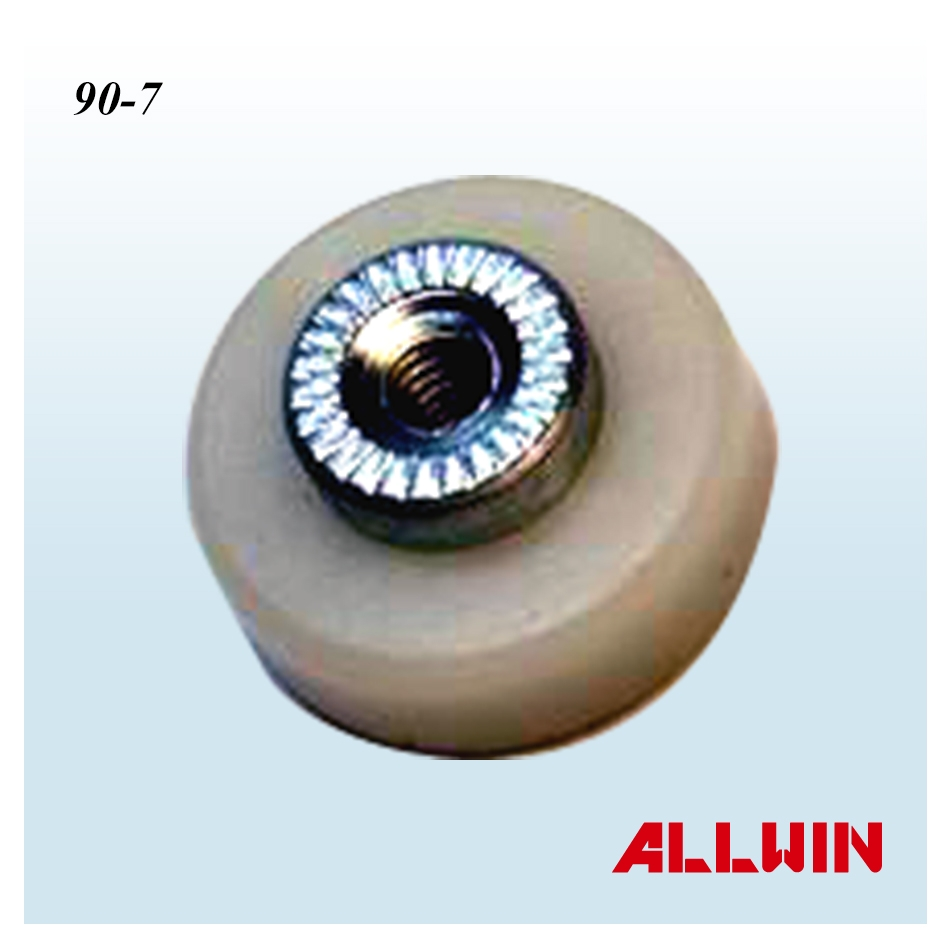 nylon window wheel roller bearing product 03 04 025 1 90 7. Black Bedroom Furniture Sets. Home Design Ideas