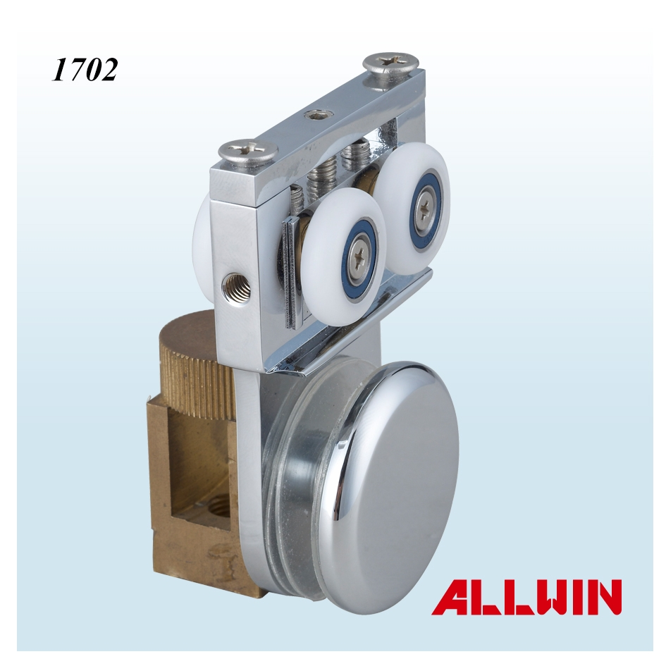 Round Cl& Hang Glass Sliding Door Roller  sc 1 st  ALLWIN Architectural Hardware Inc. & Round Clamp Hang Glass Sliding Door Roller product-04-007-03-2-1702