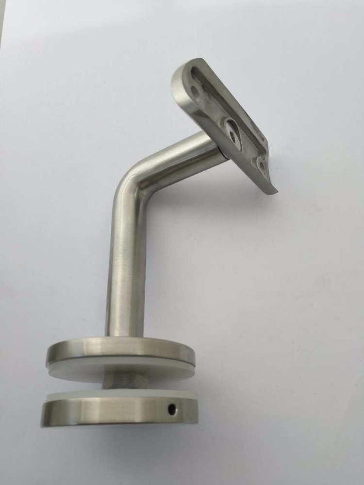 Easily Installation Wall Glass Mounted Adjustable Handrail