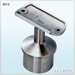 Adjustable Flat Saddle Round Tube Handrail Bracket Product