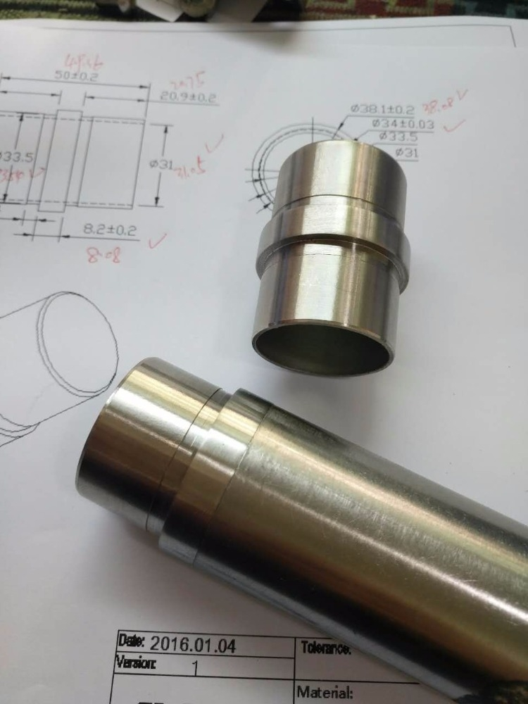 Stainless Steel Inline 2 Way Round Tube Connector Product 1 04 0016 2 50170