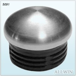 Stainless Steel Round Tube Arched End Cap Product 1 04 004