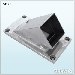 Stainless Steel Square Angle Tube Connector Product 1 04